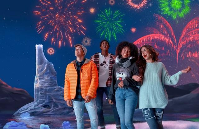 AE x Disney holiday campaign