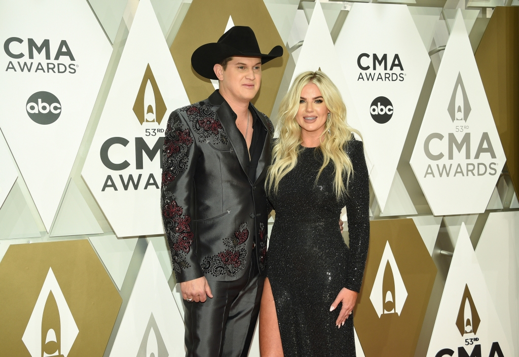Jon Pardi and Summer Duncan arrive at the 53rd annual CMA Awards, 2019.