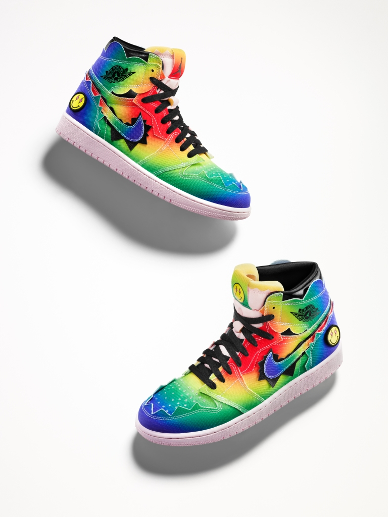 The Air Jordan I x J Balvin sneakers
