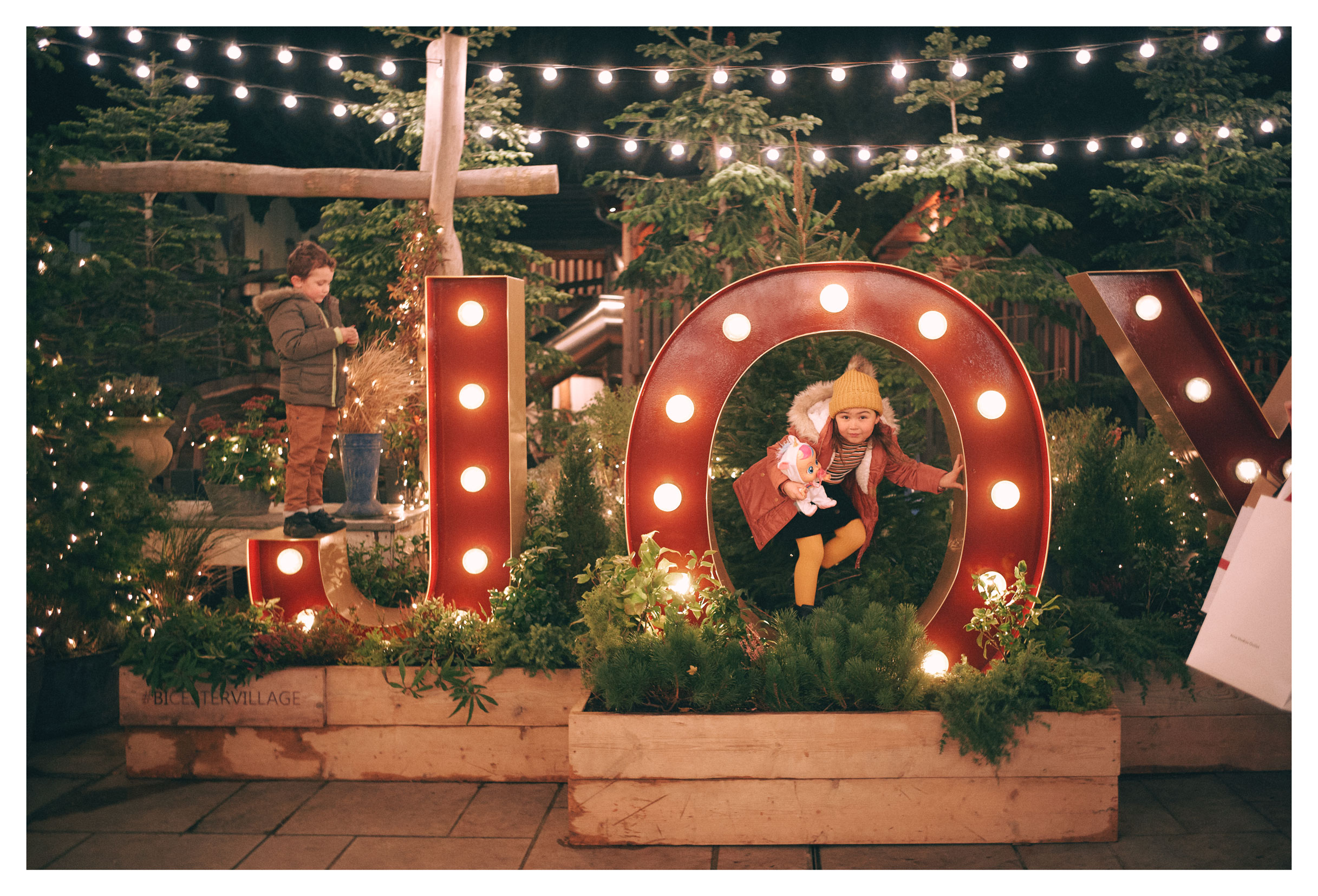 Holiday decoration at The Bicester Village Shopping Collection