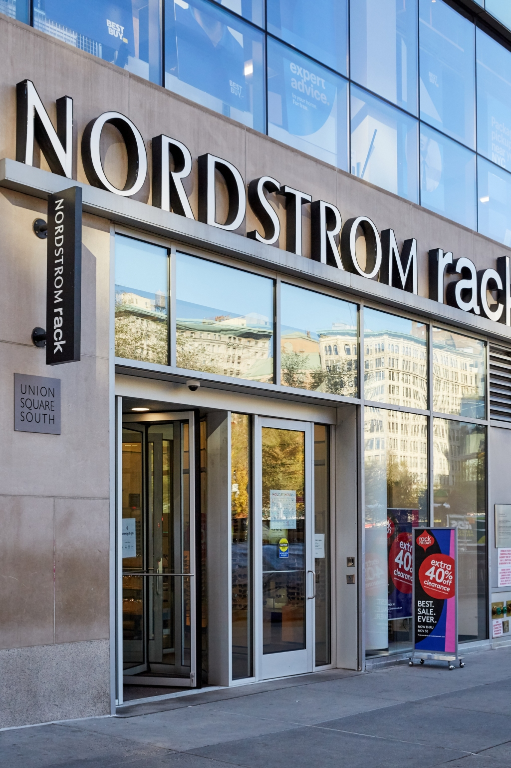 Nordstrom in New York City on Black Friday, 2020.