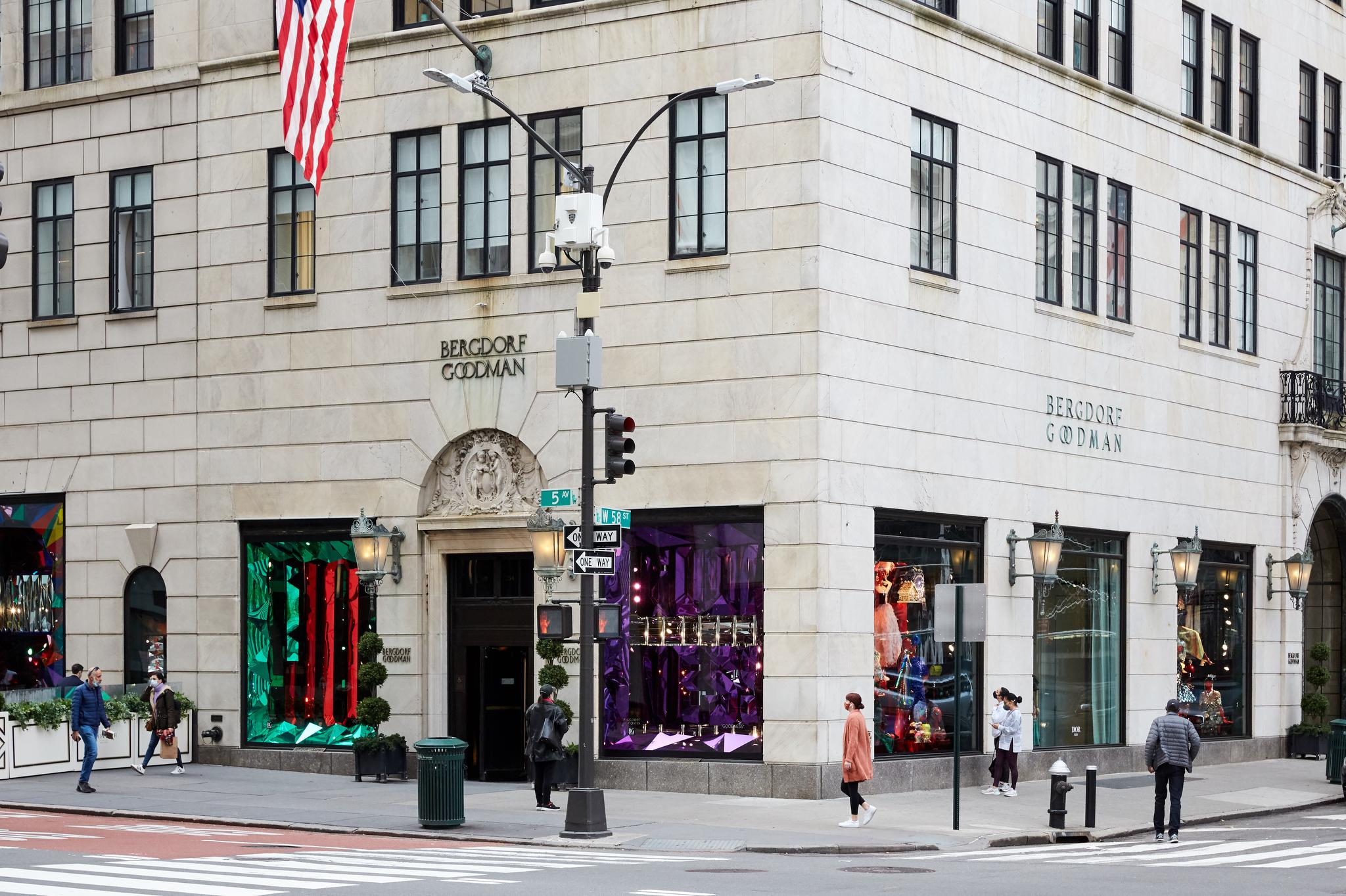 Bergdorf Goodman in New York City on Black Friday, 2020.