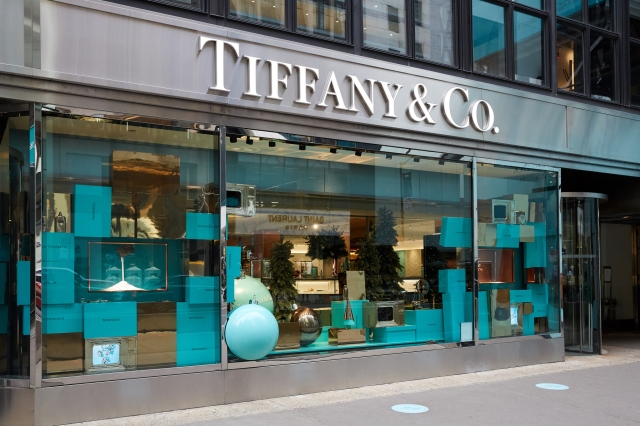 Tiffany & Co. and Chanel in New York City on Black Friday, 2020.