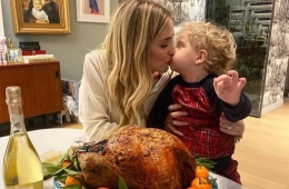 Chiara Ferragni celebrates Thanksgiving in Milan