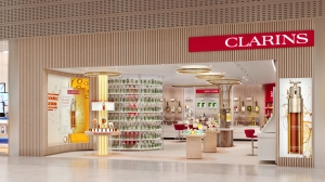 Groupe Clarins' virtual boutique
