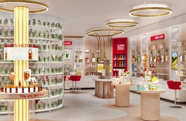 Inside Groupe Clarins' 3-D Virtual Boutique
