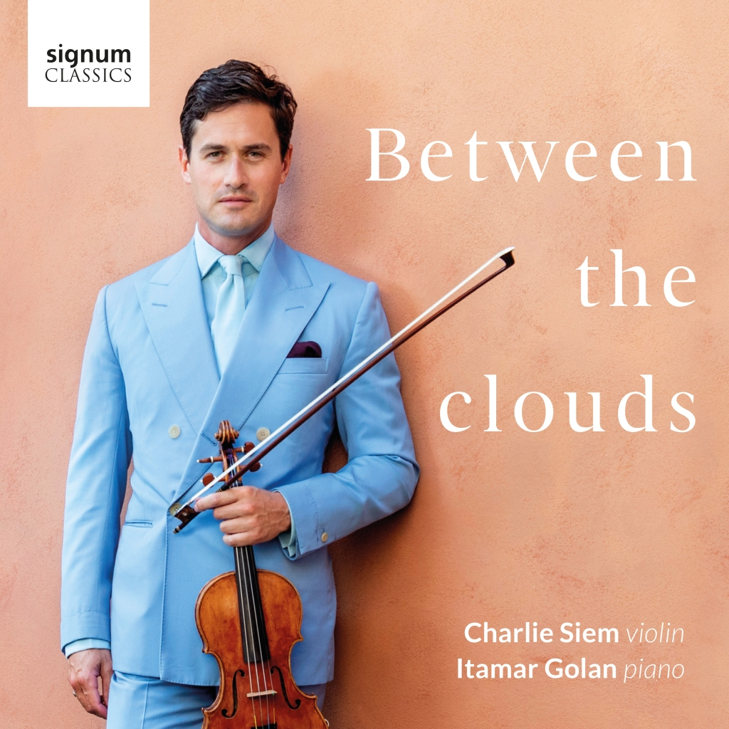"Album cover for ""Between the Clouds."""