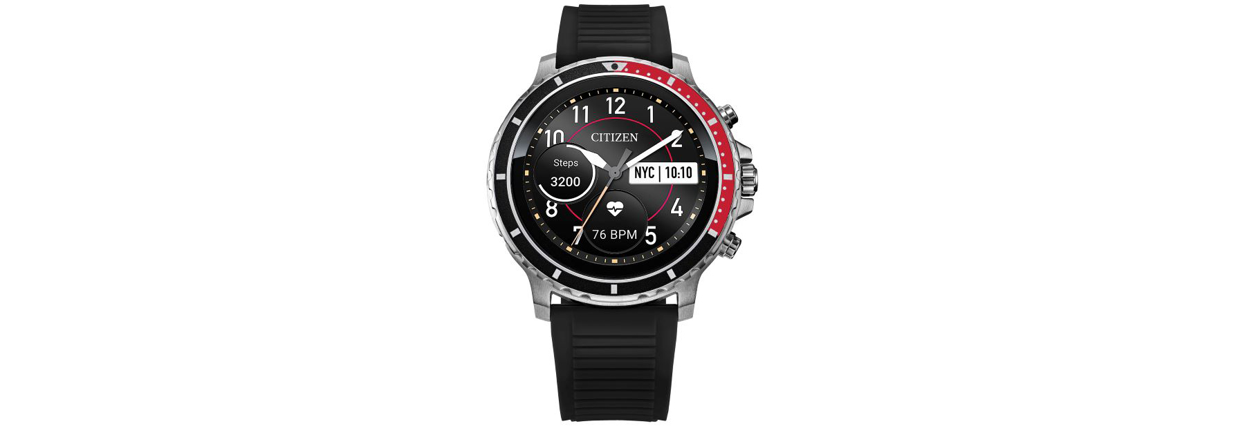 CZ Smart, Citizen's first full touchscreen smartwatch.