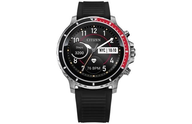CZ Smart, Citizen's first full touchscreen smartwatch.