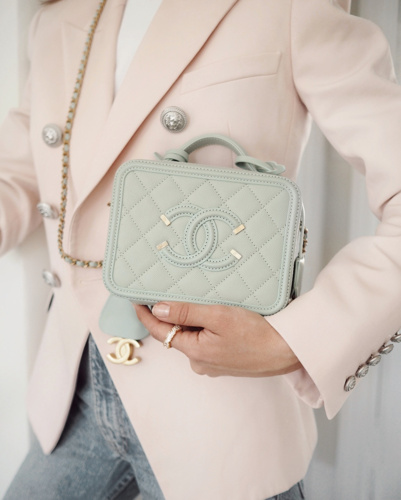 A Chanel bag sourced and sold by Sellier