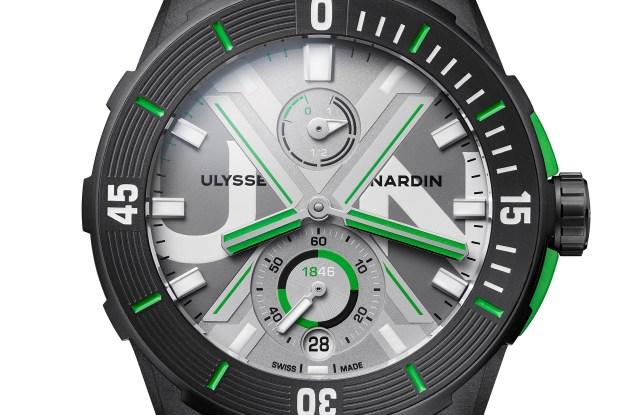 Ulysse Nardin Diver Net watch