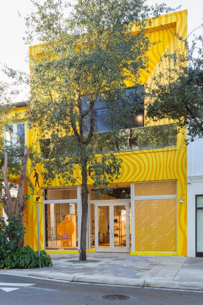 Fendi Miami Design District store revamped by Sarah Coleman