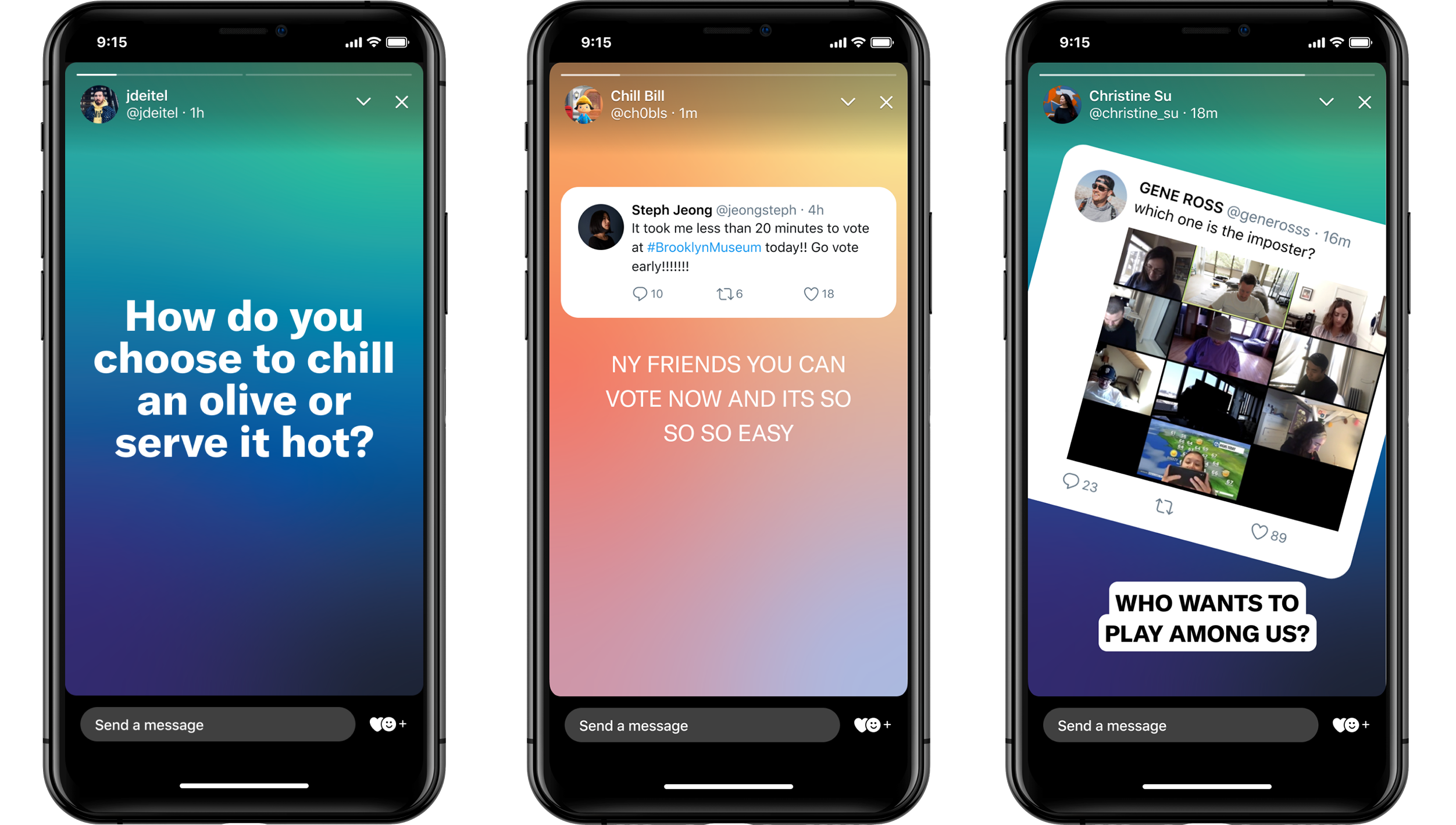 Twitter launches Fleets, a new feature for disappearing tweets rolling out for iOS and Android users starting Tuesday.