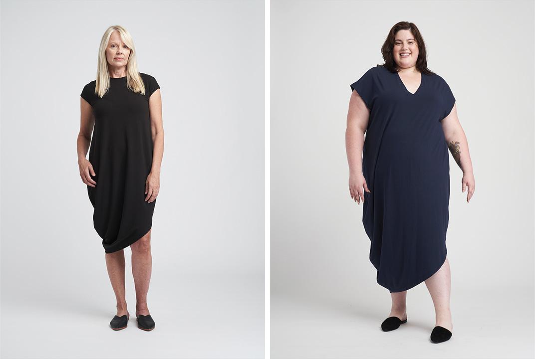 Universal Standard's best-selling Geneva dress.