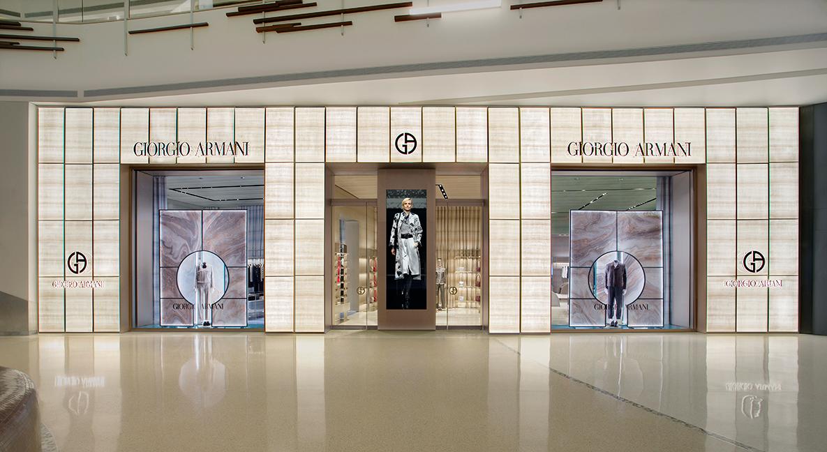 Giorgio Armani The Shops at Crystals
