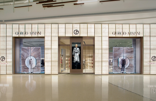 Giorgio Armani The Shops at Crystals