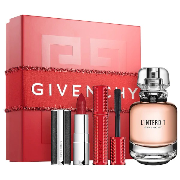 Givenchy-LInterdit-Mini-Mascara-Le-Rouge-Lip-Set