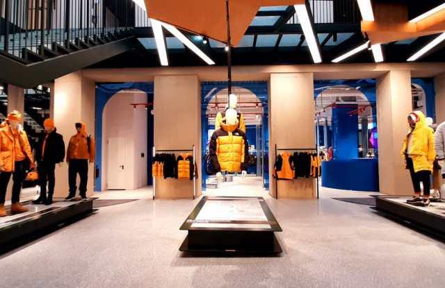 VF Corp.'s new Orefici 11 retail destination in Milan