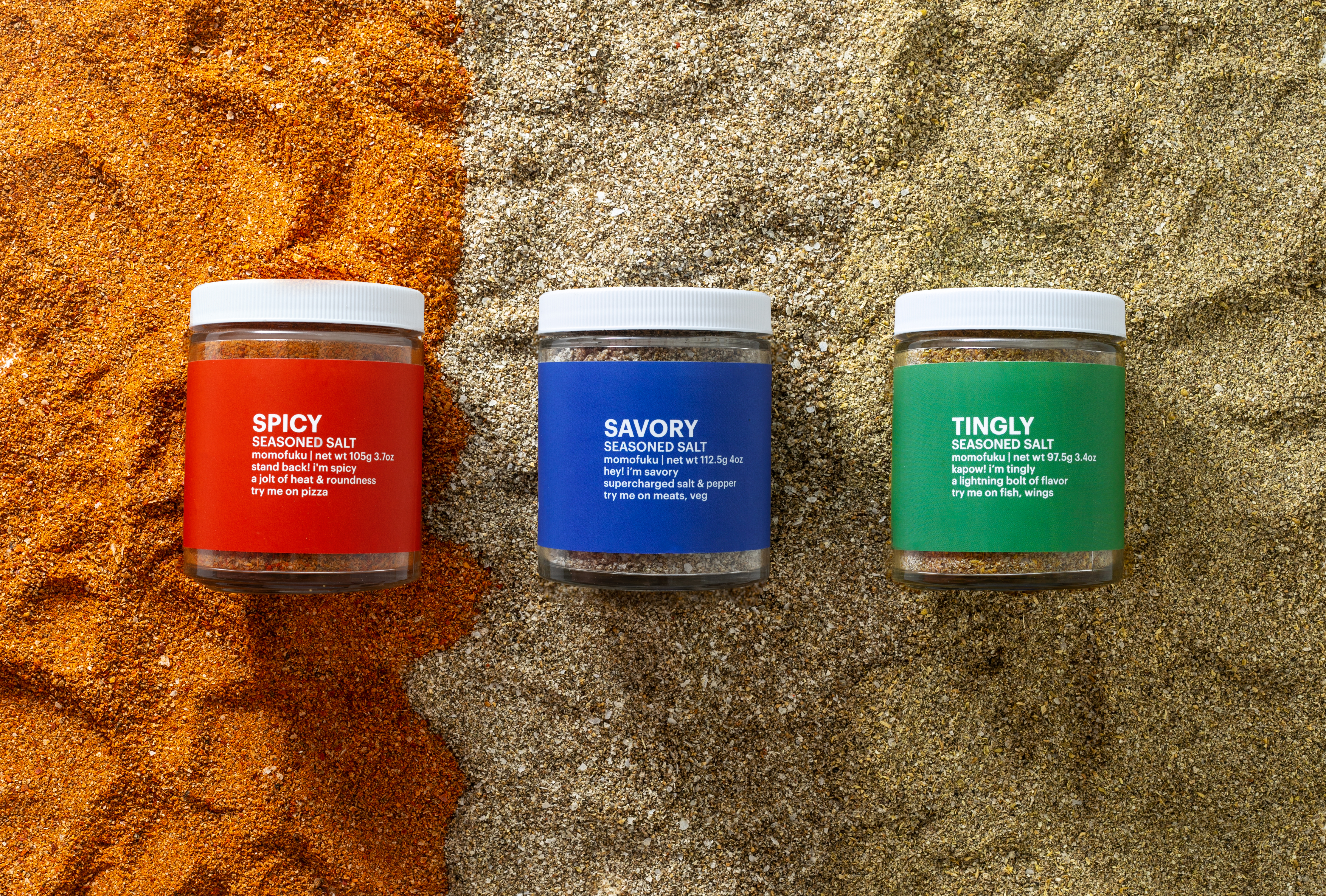 Momofuku seasoned salts.