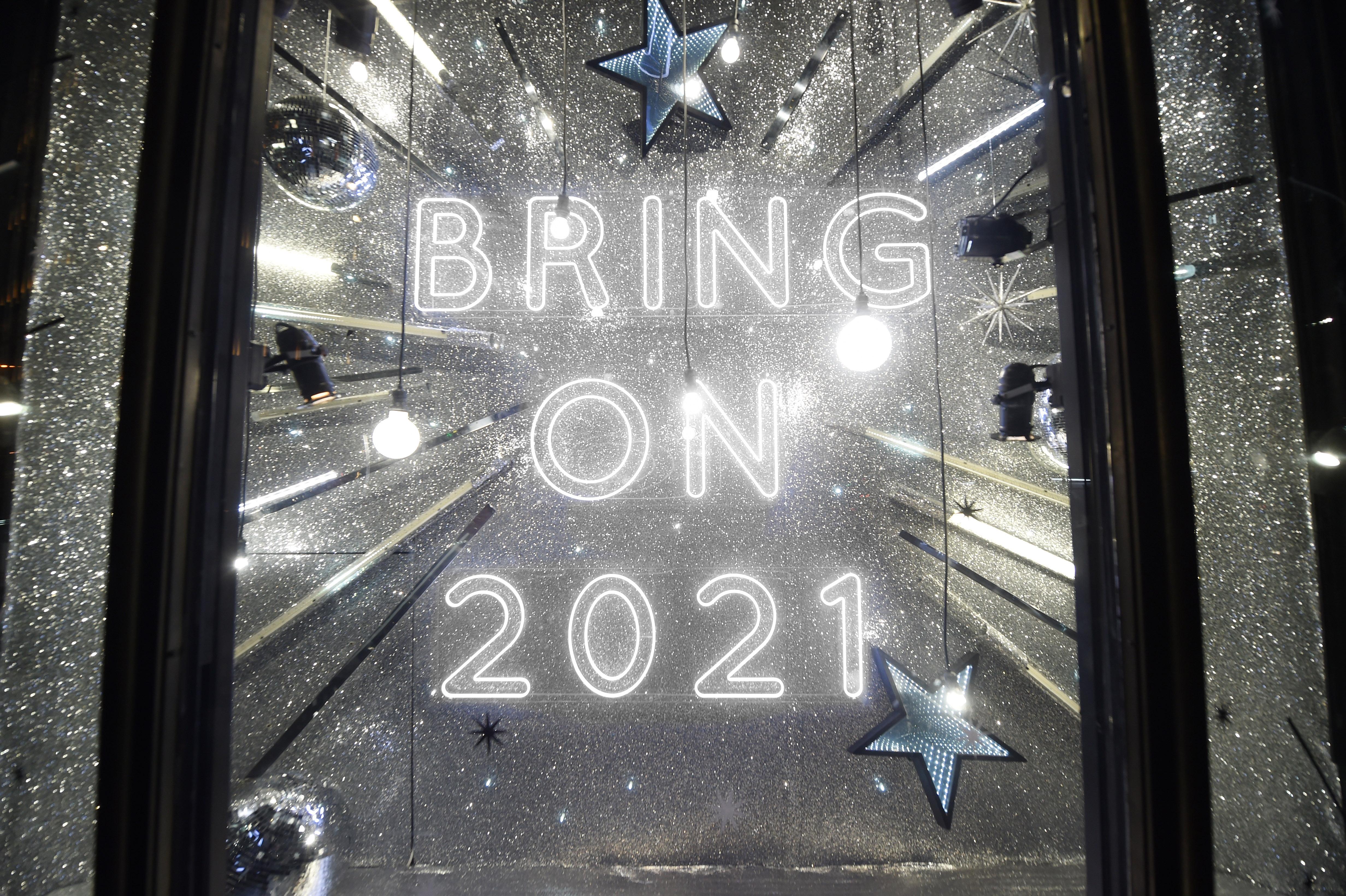 Harvey Nichols' 2020 Christmas windows.
