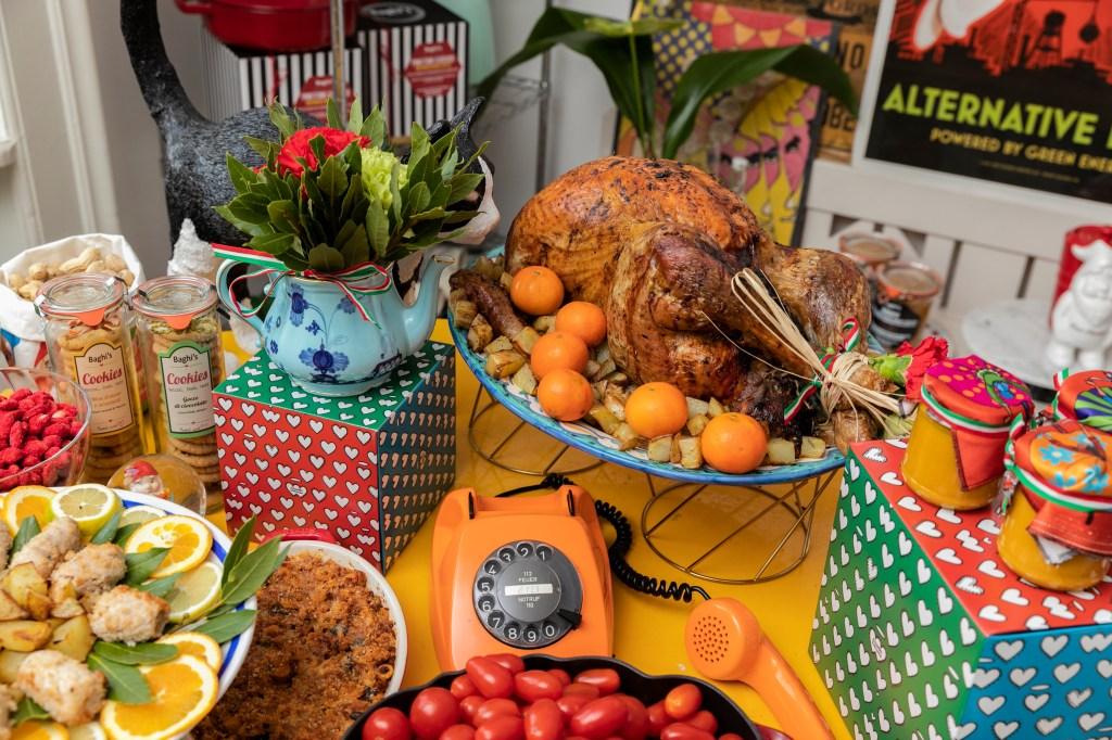 Alessandro Enriquez's Italan Thanksgiving