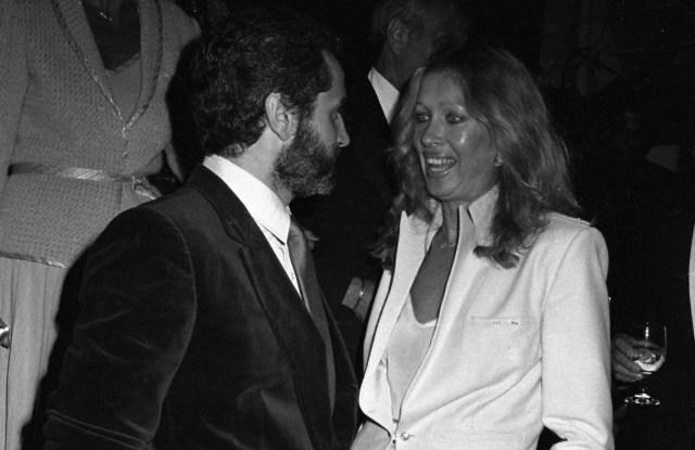 Gianni Versace and Isa Stoppi