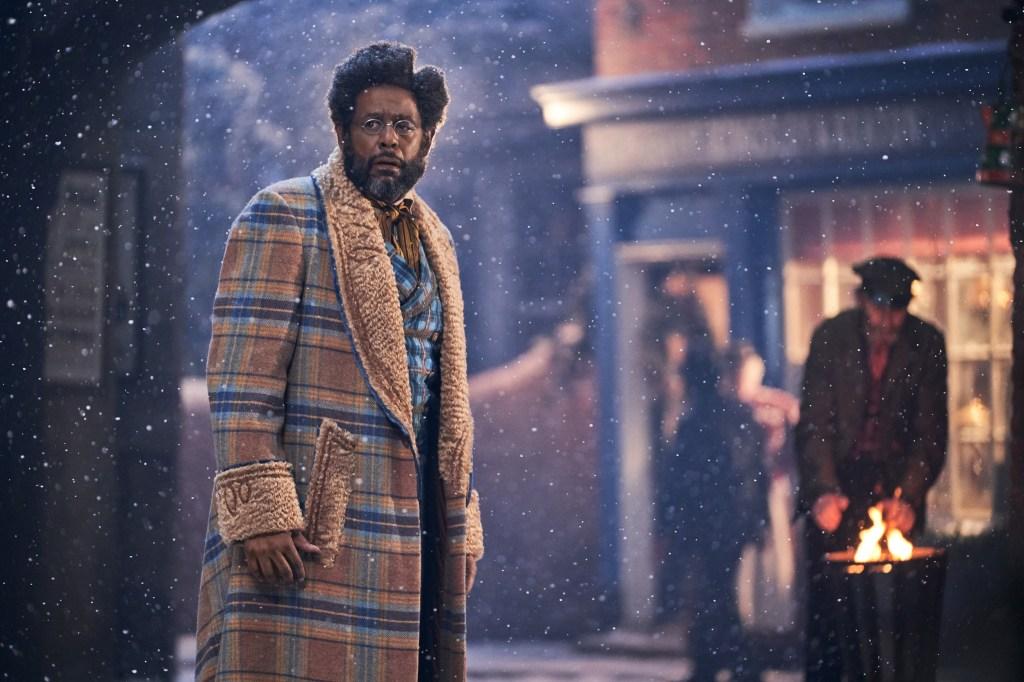 JINGLE JANGLE: A CHRISTMAS JOURNEY (2020)Forest Whitaker as Jeronicus. Cr.Gareth Gatrell/NETFLIX