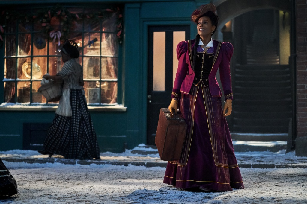 JINGLE JANGLE: A CHRISTMAS JOURNEY (2020)Anika Noni Rose as Jessica. Cr.Gareth Gatrell/NETFLIX