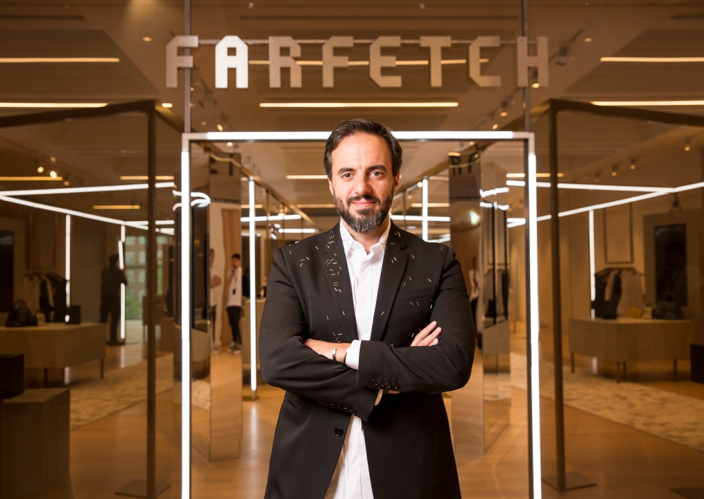 jose neves farfetch logo store