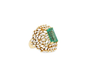 A Suzanne Kalan ring designed exclusively for Harrods