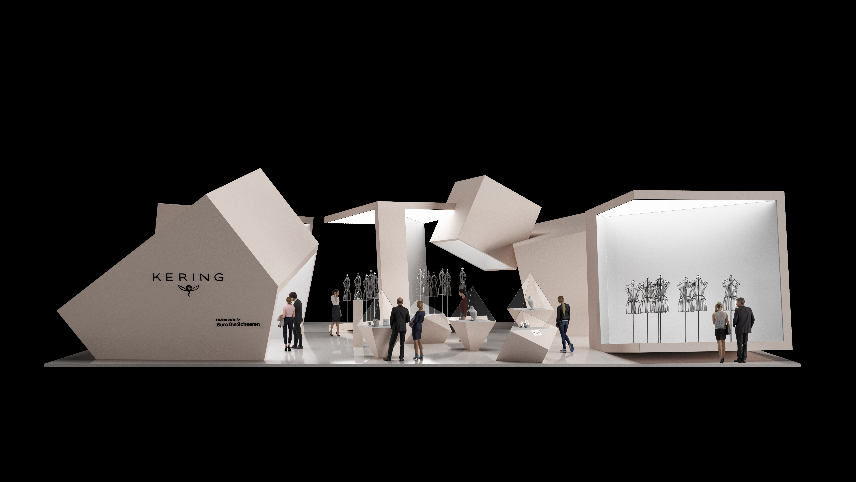 Kering Pavilion visual concept at CIIE 2020 by Ole Scheeren Buro