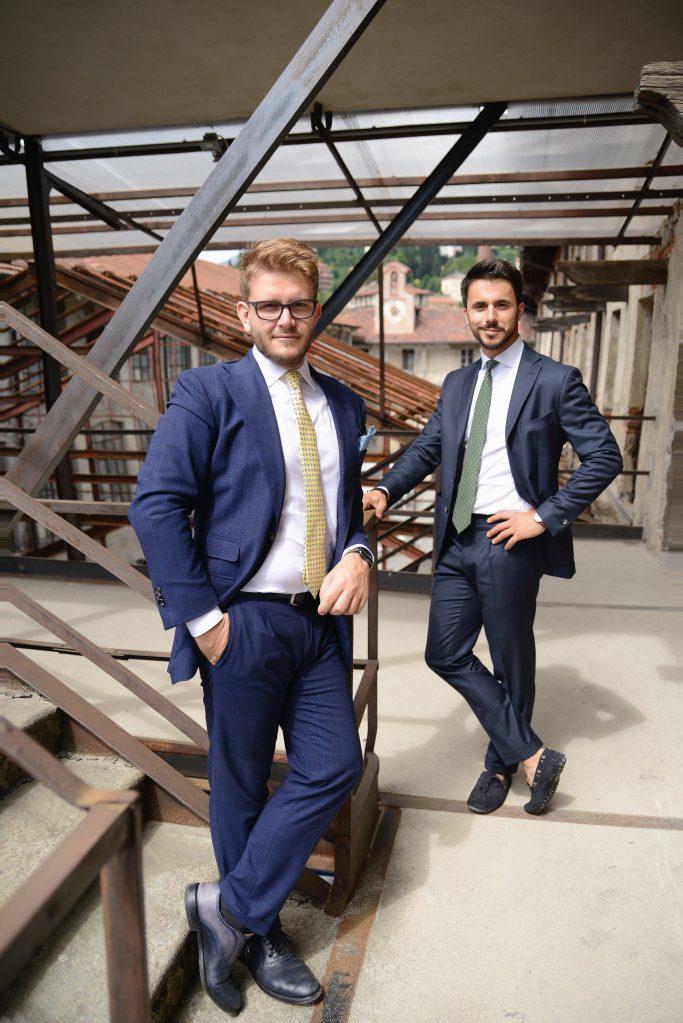 Lanieri's cofounders Simone Maggi and Riccardo Schiavotto