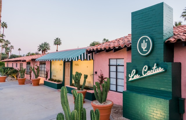 Les Cactus, Palm Springs