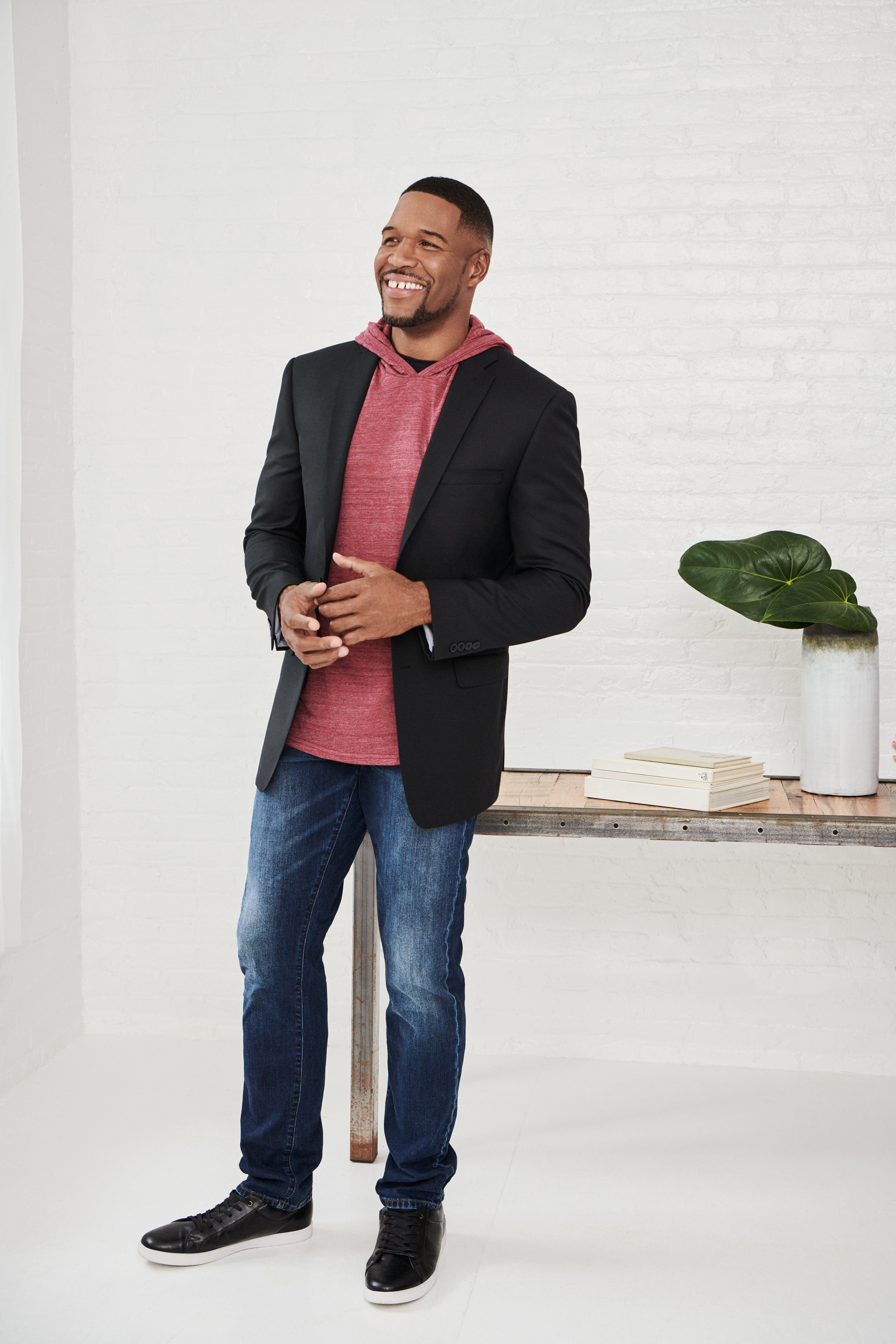 Michael Strahan in his Collection.
