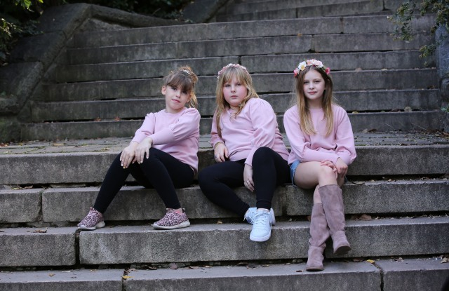 Some looks from Minnie Rose's new girls' line.
