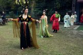 Attendees at a Hanfu gathering in Shanghai.