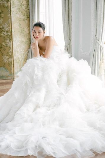 Monique Lhuillier Fall 2021 Bridal
