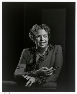 Eleanor Roosevelt by Yousuf Karsh