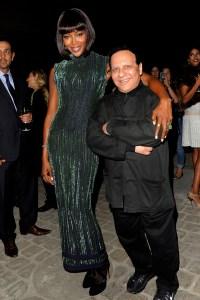 Naomi Campbell and Azzedine Alaia
