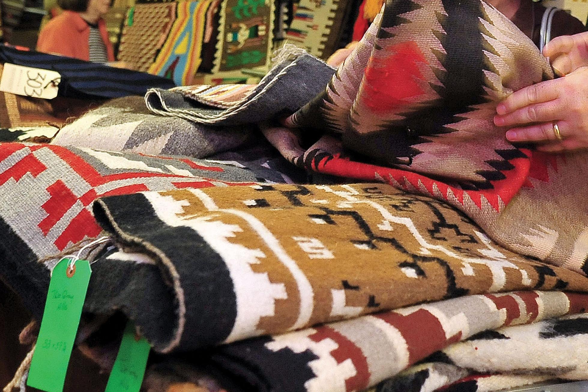 Navajo rugs in Prescott, Ariz.