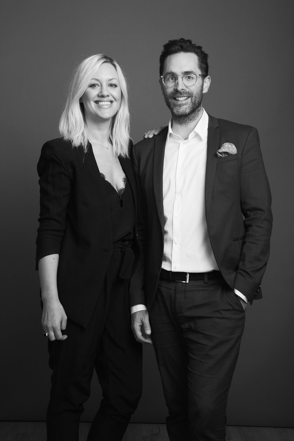 Olivia Skuza and Heath Wells, founders and co-chief executive officers of NuOrder