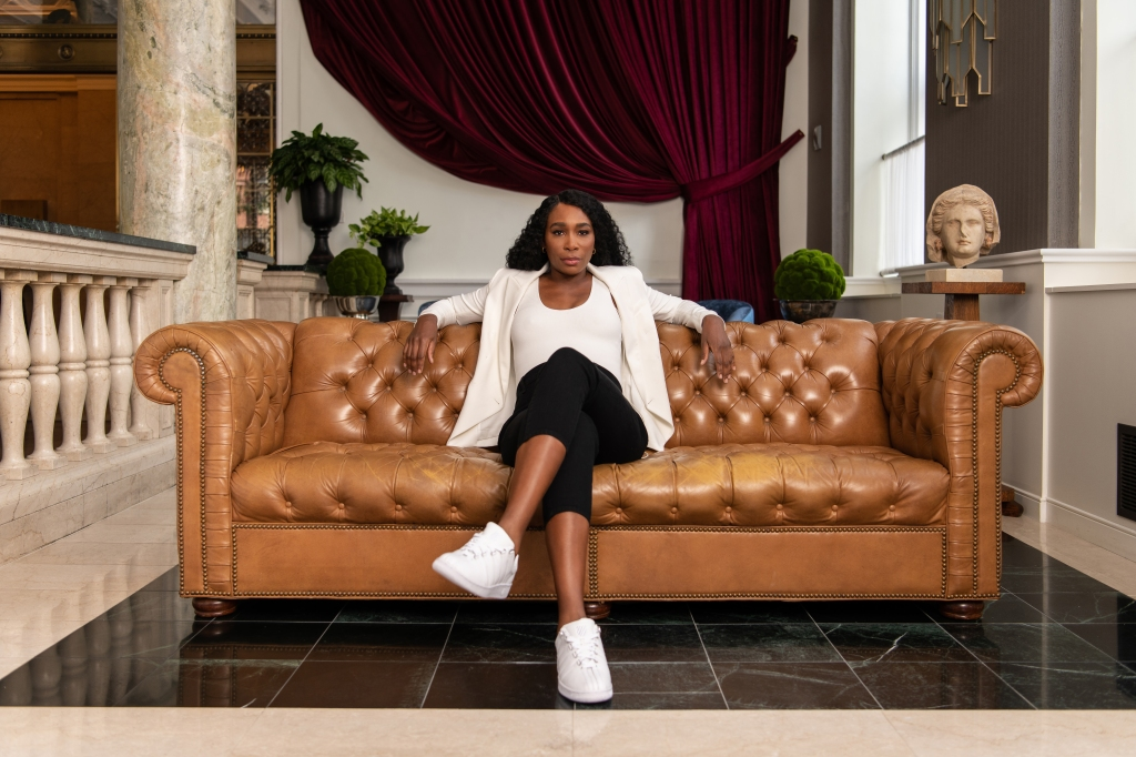 Venus Williams is the new brand ambassador for K-Swiss.