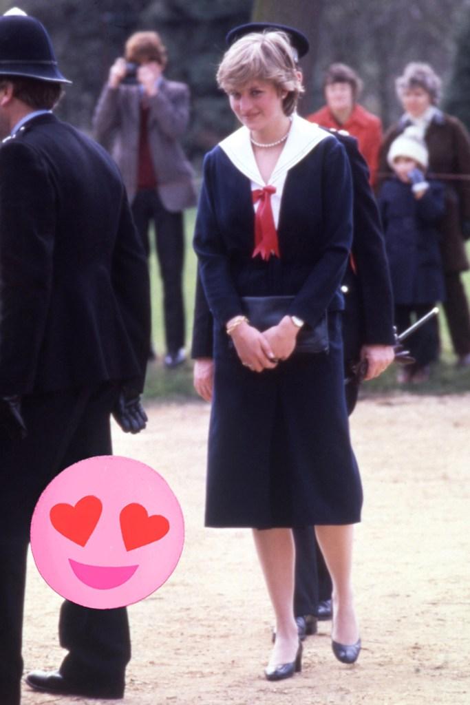 Lady Diana Spencer, 1981.