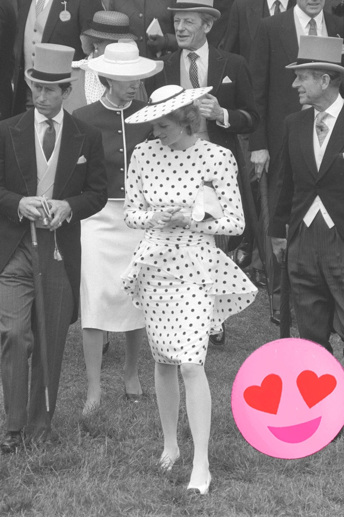 Princesse Diana, 1986.