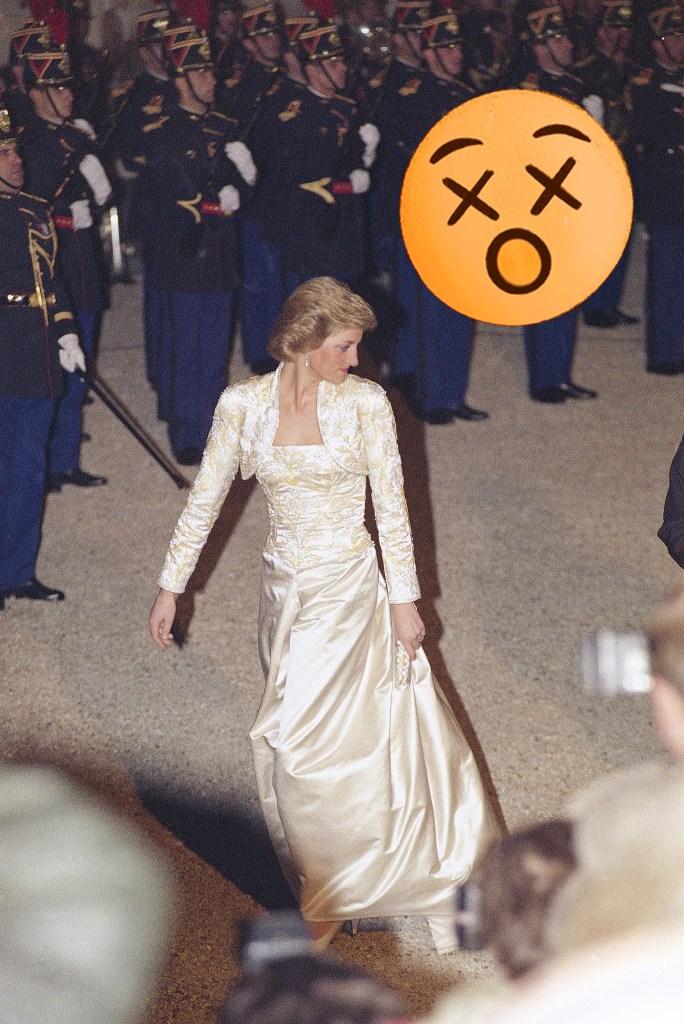 Princesse Diana, 1988.