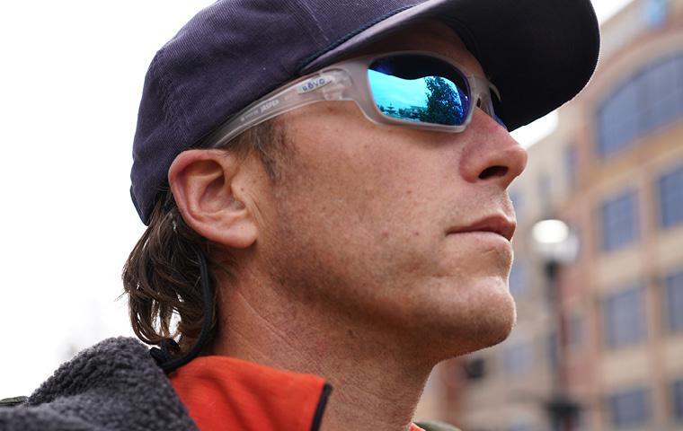 Bode Miller x Revo sunglasses.