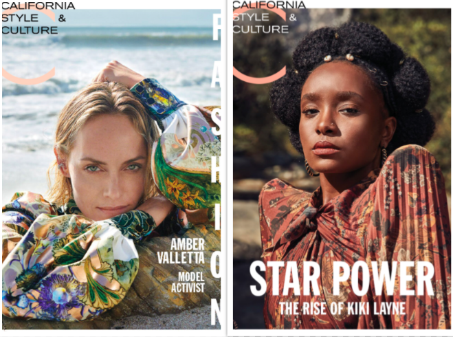 Recent covers of C's print magazine.