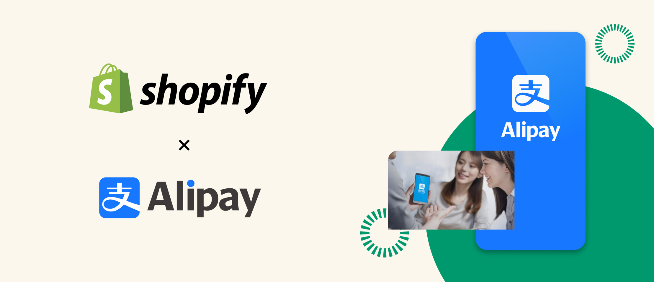 Shopify and Alipay have partnered on a new payments gateway for U.S.-based merchants serving Asian consumers.