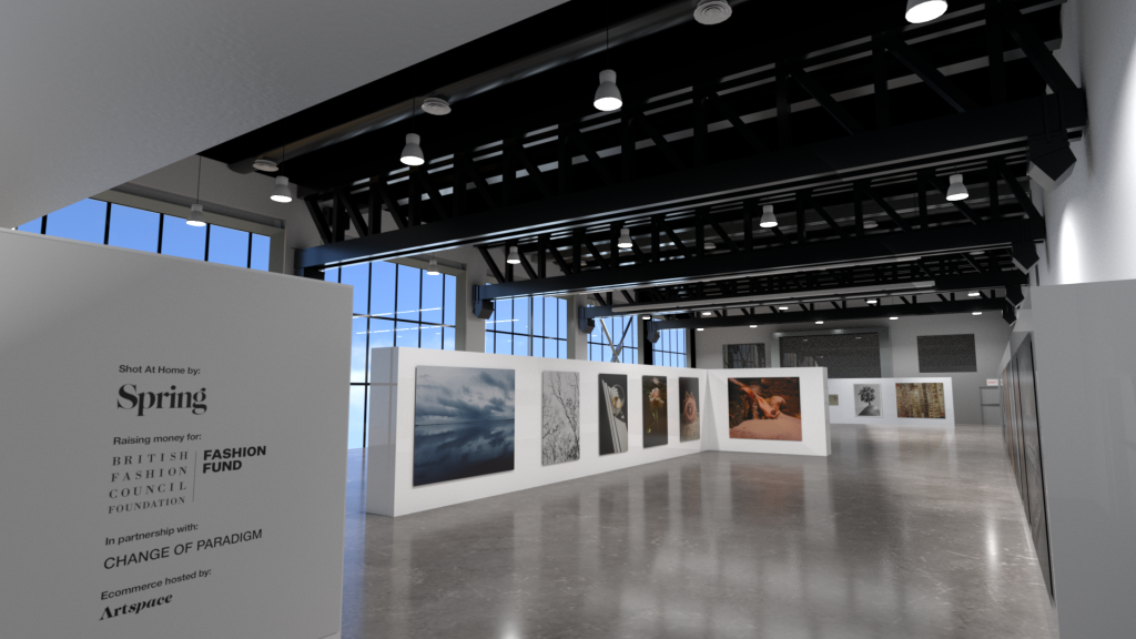 A look at Spring Studios' new virtual gallery, which will raise money for the BFC Foundation.