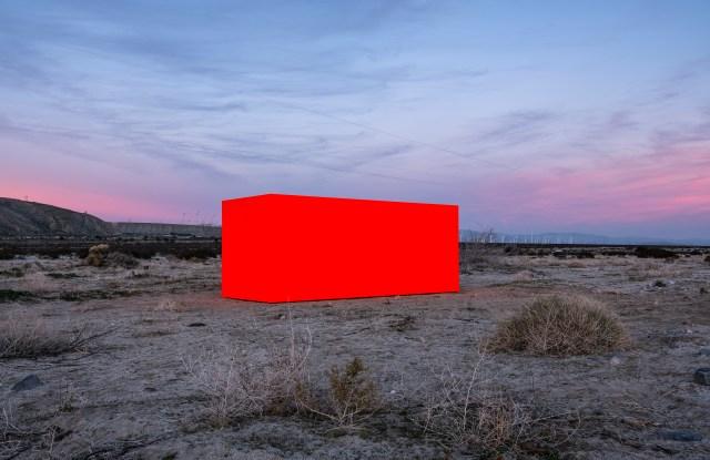 """Sterling Ruby's """"Specter"""" from Desert X, 2019."""